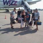 Vertrek Debrecen 31 juli 2014