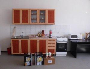 Dankzij giften kon in de zomer van 2014 deze les keuken worden aangeschaft voor het kindertehuis in Mátészalka!